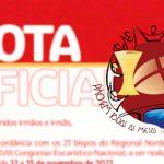 XVIII Congresso Eucarístico Nacional é adiado