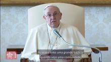 O Papa: a Igreja é o trabalho do Espírito na comunidade cristã