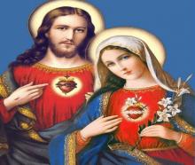 Sagrado Coração de Jesus e Sagrado coração de Maria